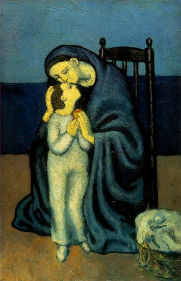 Mother and Child   - Picasso, 1901