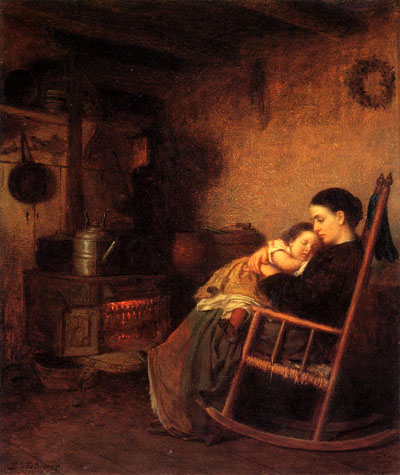 Mother and Child   - Eastman Johnson, 1869