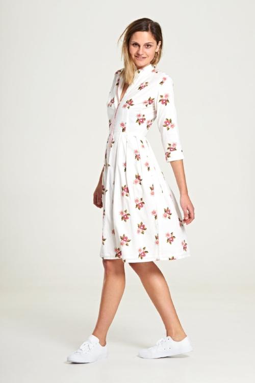 Isla Dress in French Bloom