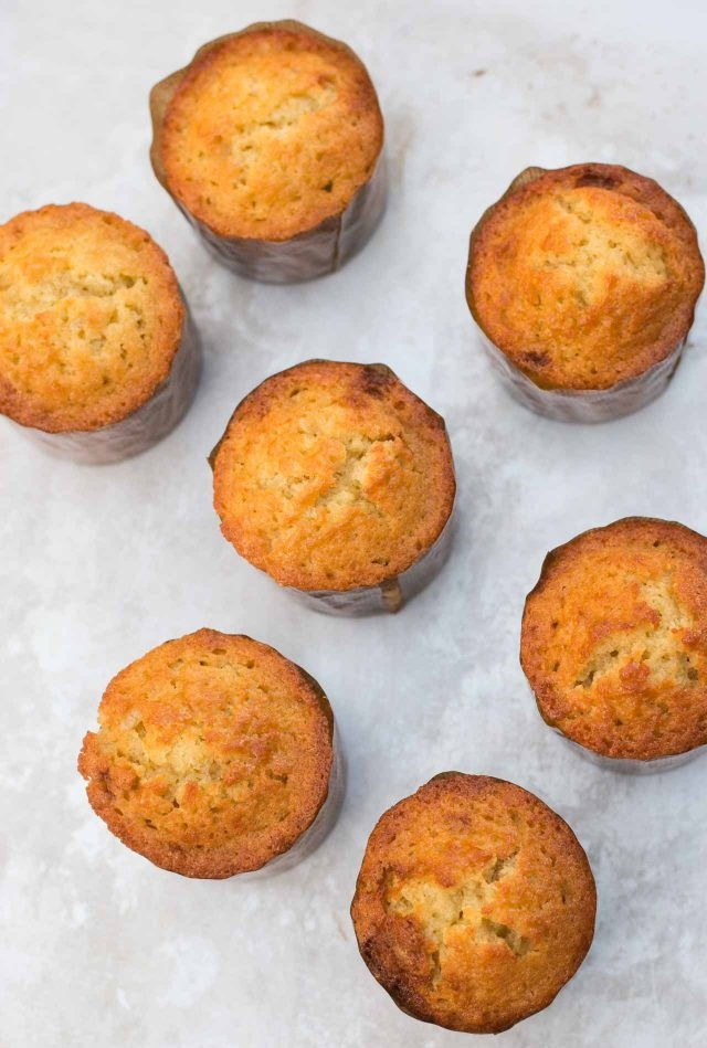 Olive Oil Muffins  from David Lebovitz (image from website)