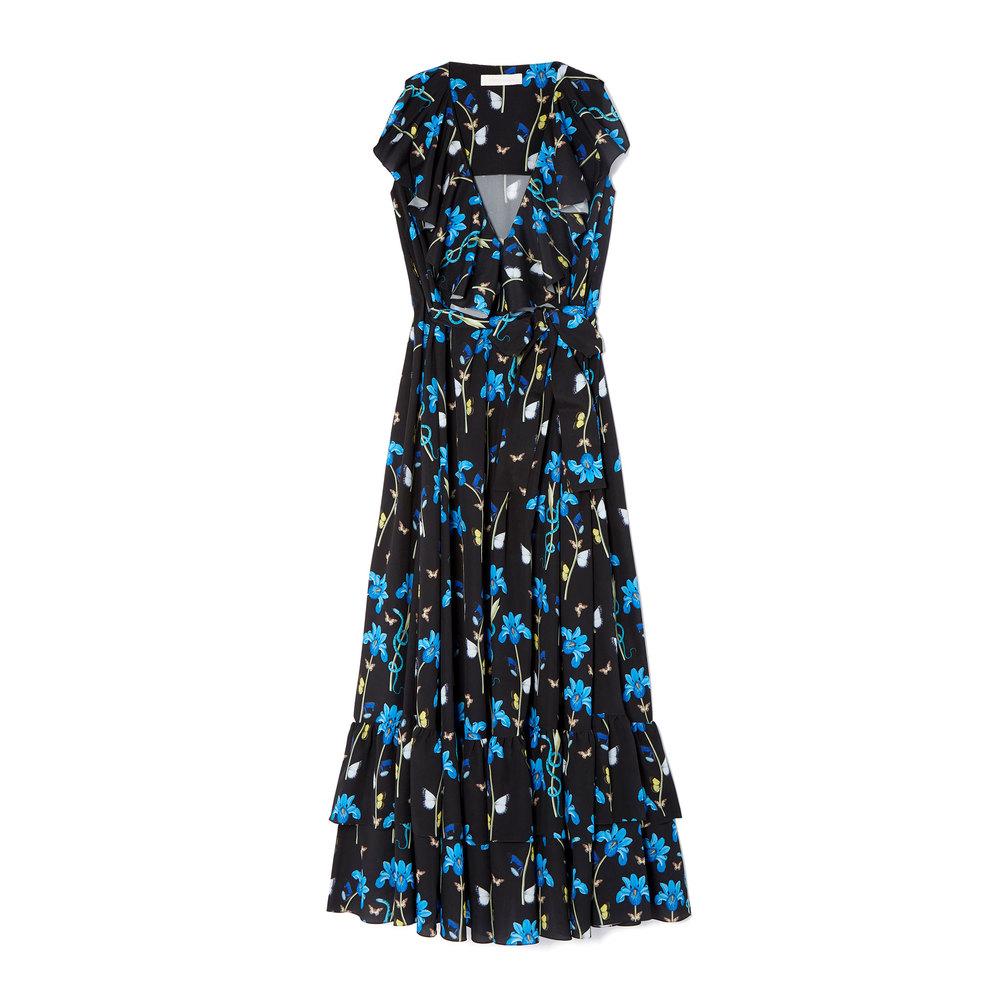 Carlotta Ruffle Maxi Dress - GOOP - $990