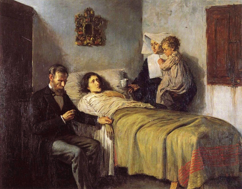 Science and Charity   - Pablo Picasso, 1897
