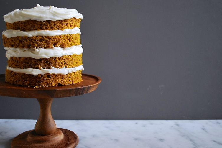 Vermont Pumpkin Spice Cake   via Food 52 (photo Posie Harwood)