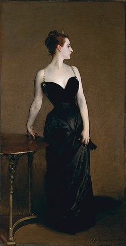 Madame X - John Singer Sargent, 1884