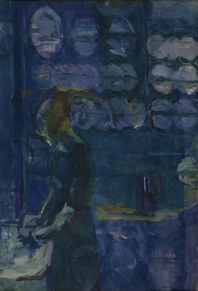 The Blue Kitchen, Ludvig Karsten (The National Gallery of Denmark)