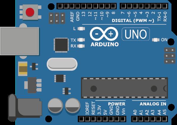 Schematic of the Arduino Uno