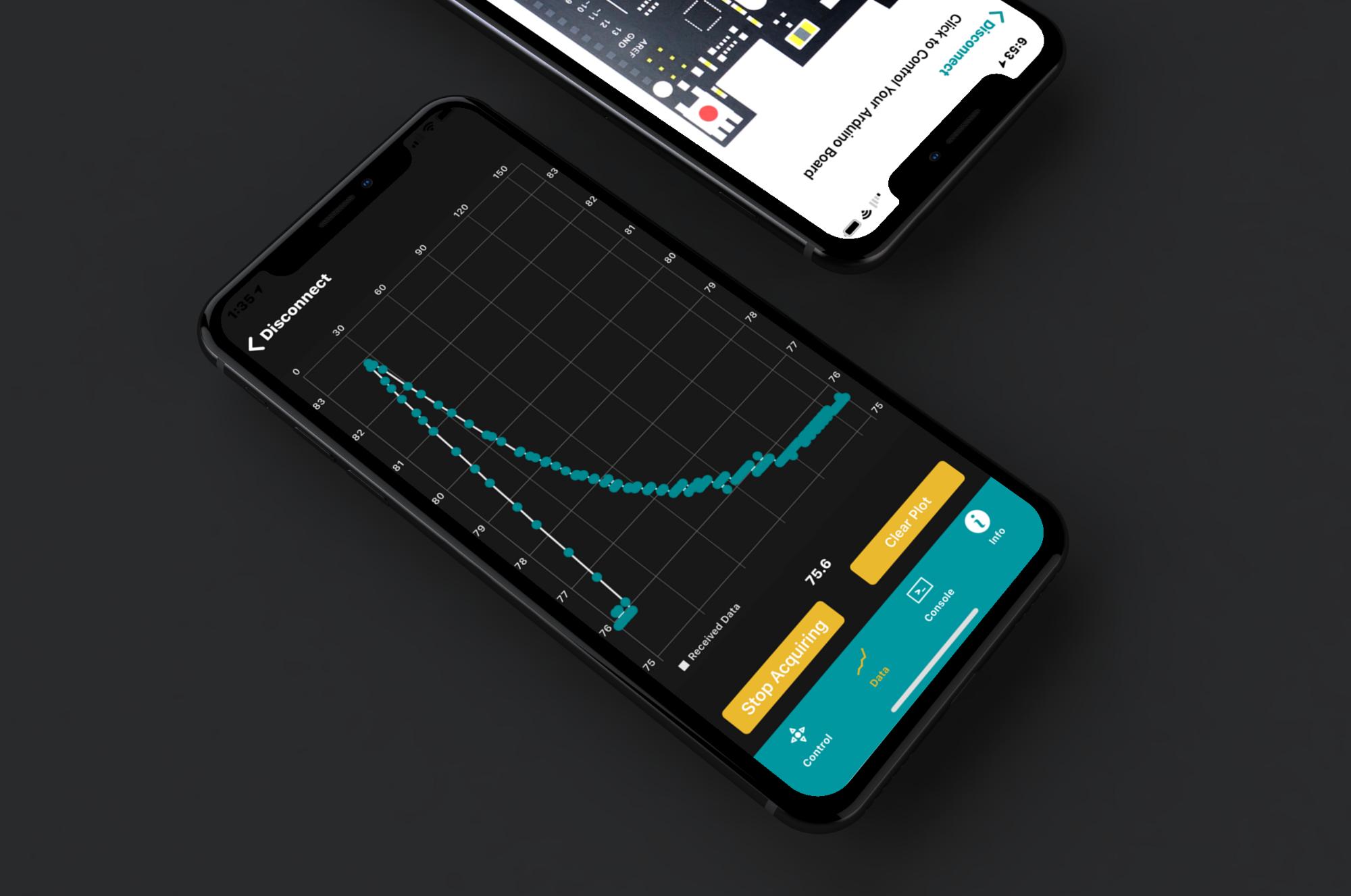 iPhone X Mockup BLExAR App Image Data Analysis.png