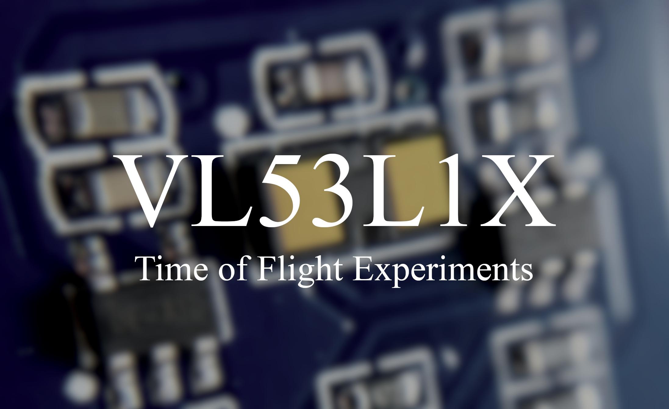 Arduino + VL53L1X Time of Flight Distance Measurement