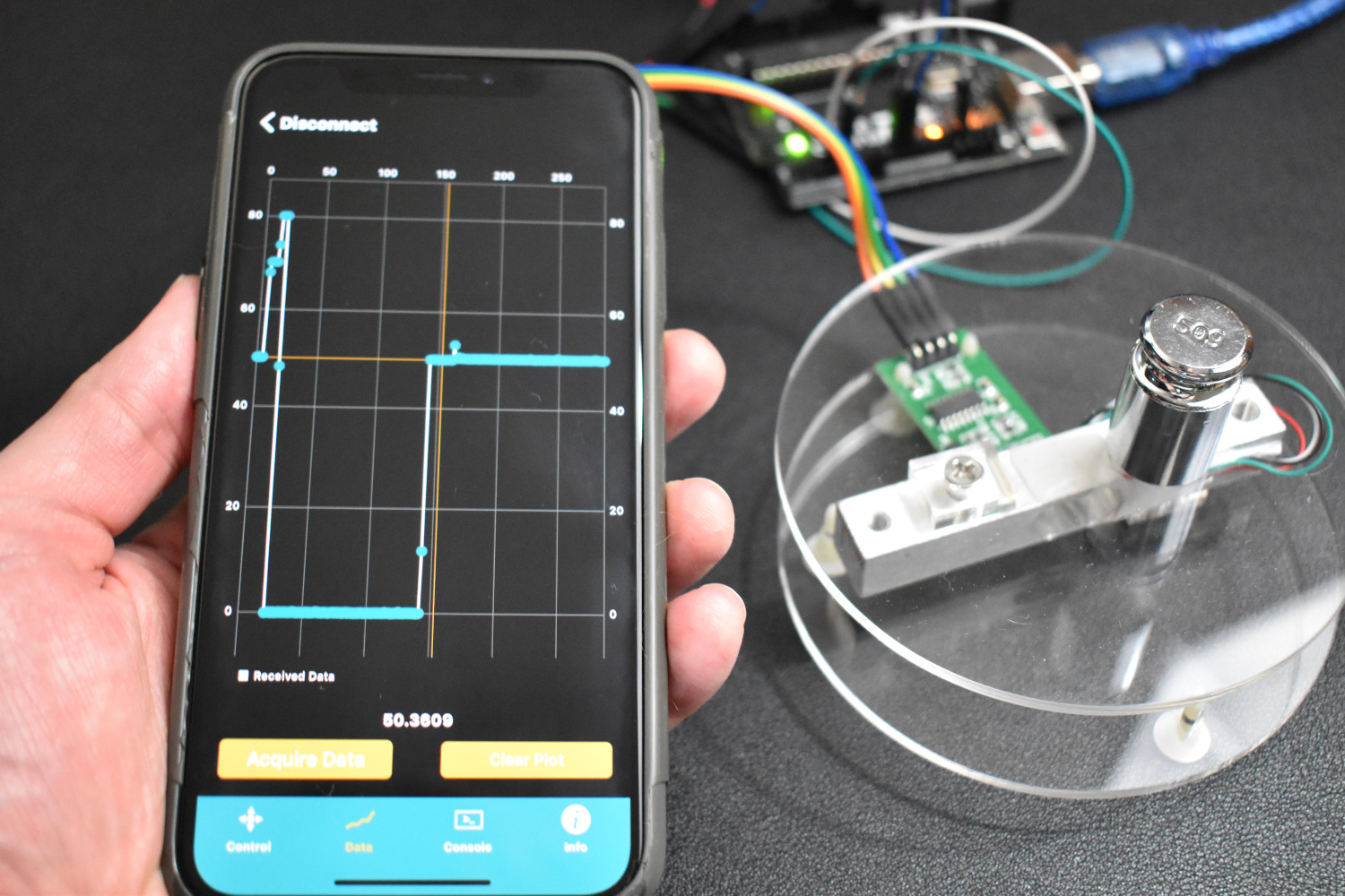 Smartphone Arduino Weighing Scale with Load Cell and HX711 — Maker