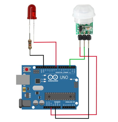 Arduino Interrupts with PIR Motion Sensor — Maker Portal