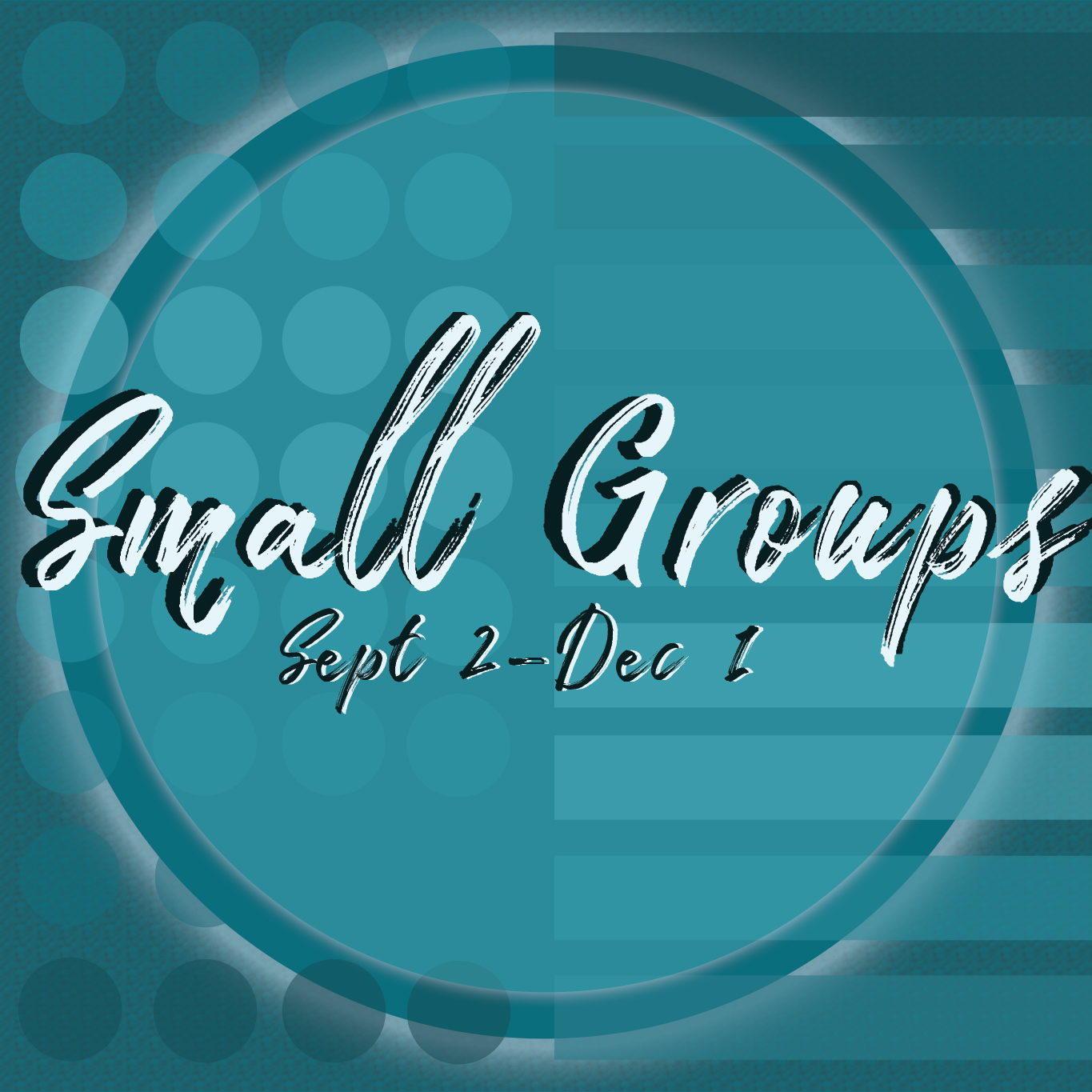 Fall 2018 Small Groups