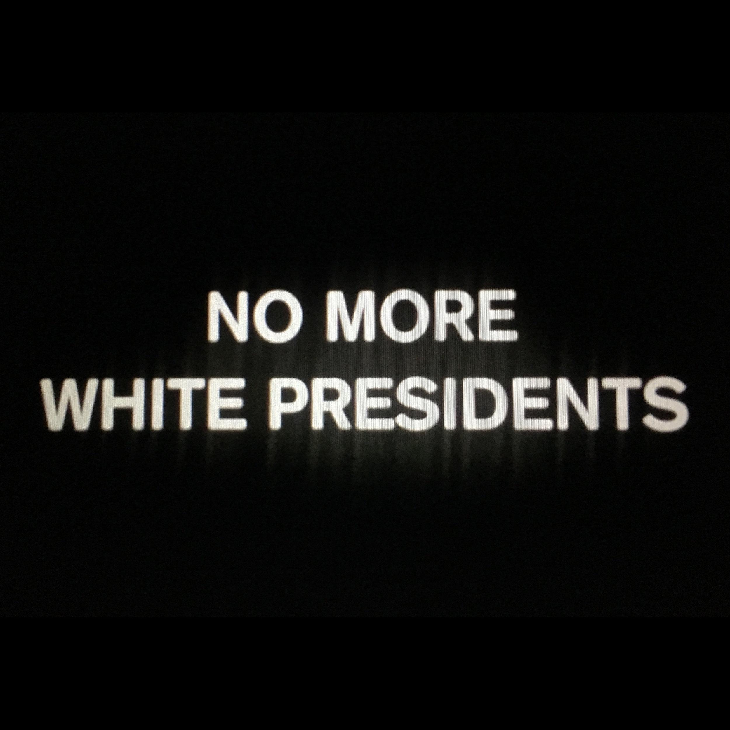 No More White Presidents Soundtrack