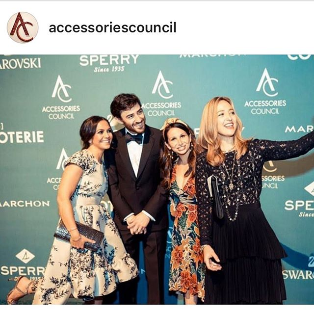 Proud to be part of the @accessoriescouncil Accessories Innovation Committee. Looking forward to the next AIC event on June 6 and the ACE Awards in June 10.  DM for details! #aceawards #acinnovators #accessoriescouncil #accessories #accessories