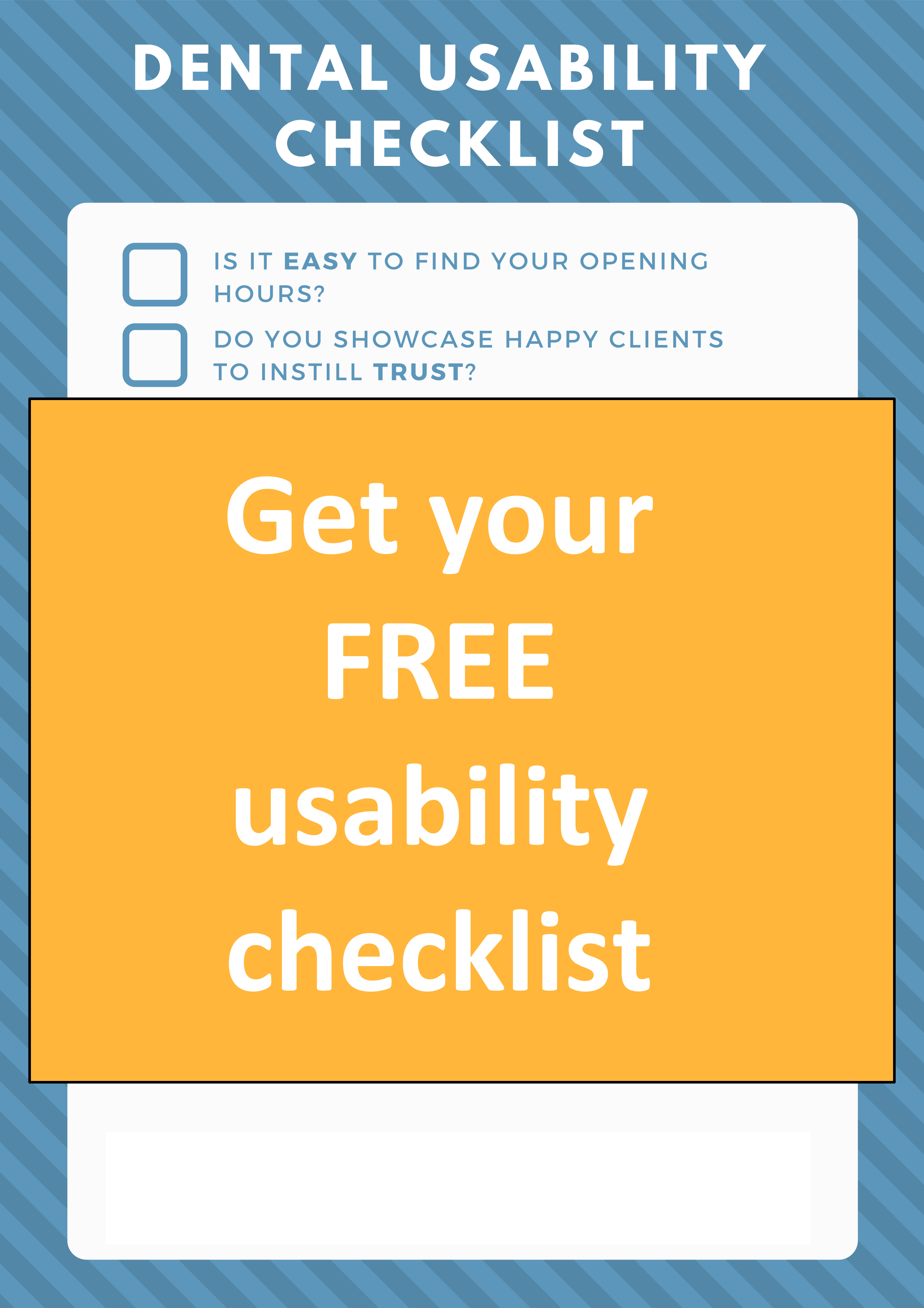 Fair or not, potential patients are judging you on how easy-to-use your website is. -