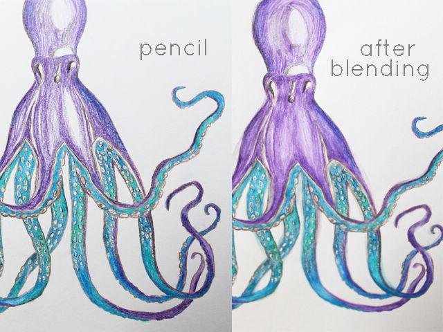 FRIDAYS: Watercolor Pencils