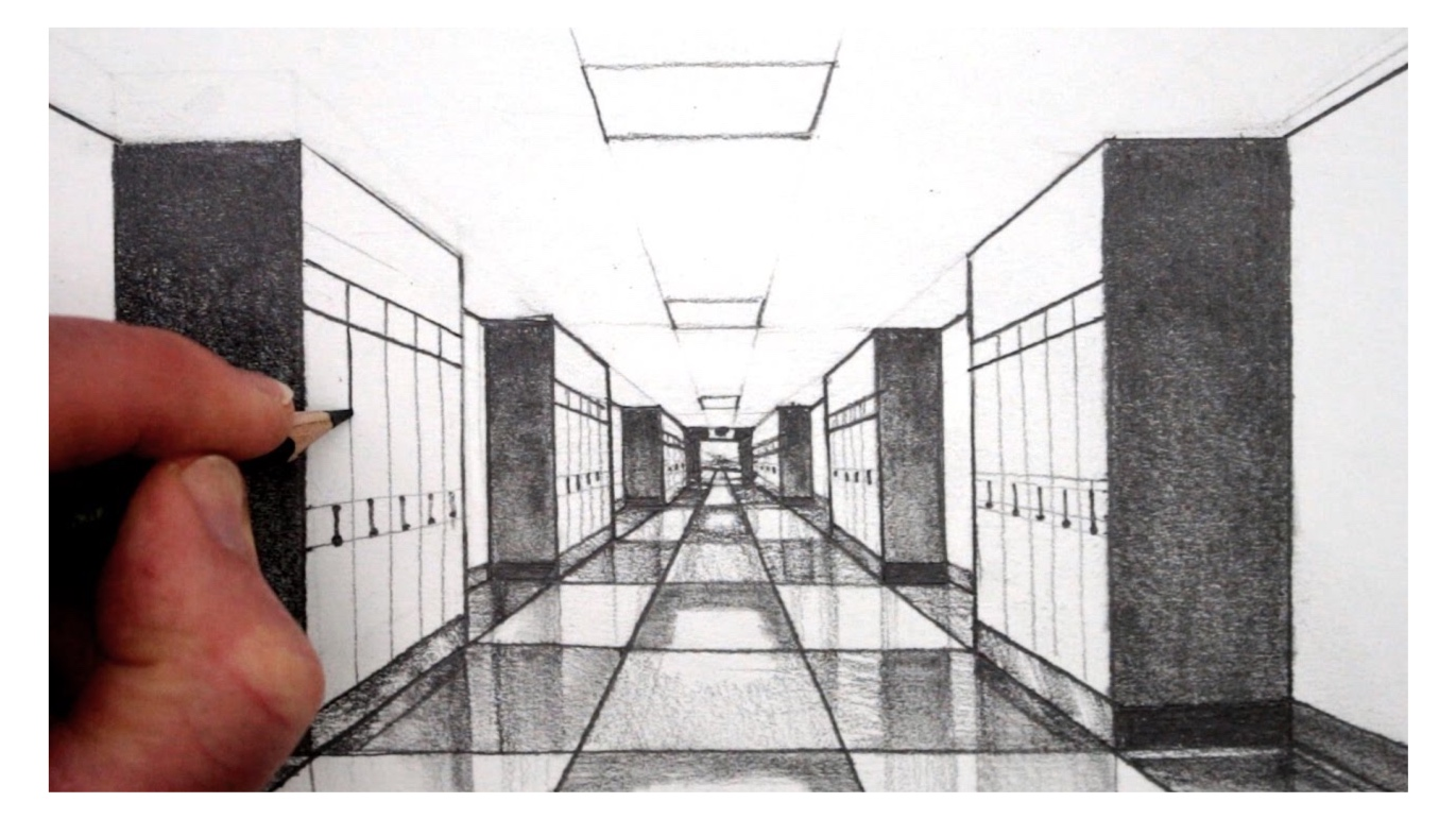 Mondays:Perspective(Pencil)