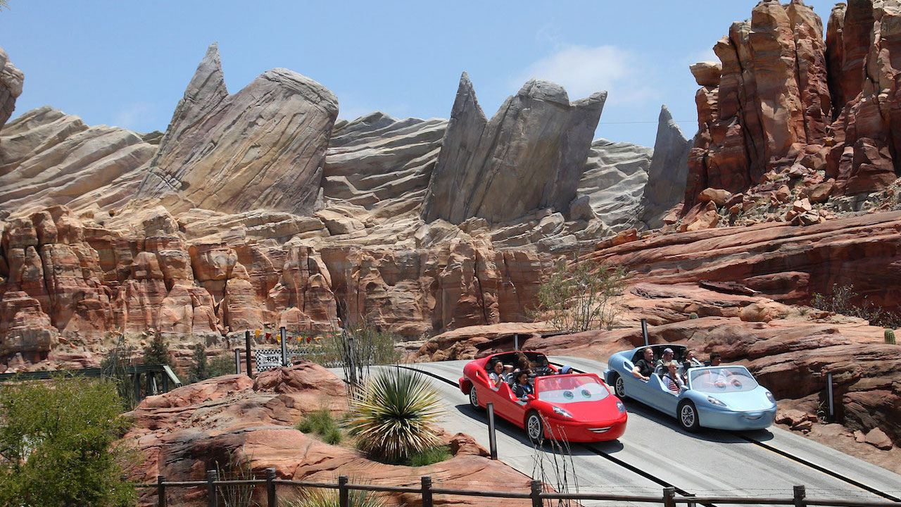 DISNEY'S CALIFORNIA ADVENTURE - CARS LAND
