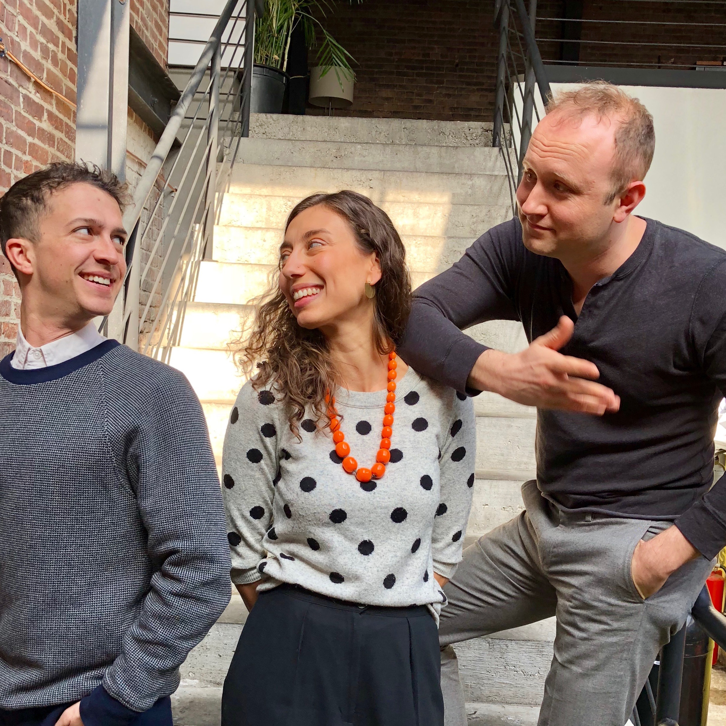 Your consulting team (from left) Brett Moses, Danielle Florio, and Mark Losinger