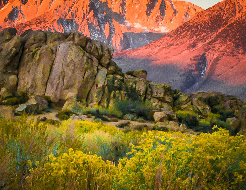 Sunrise2  Buttermilk Mountain, CA
