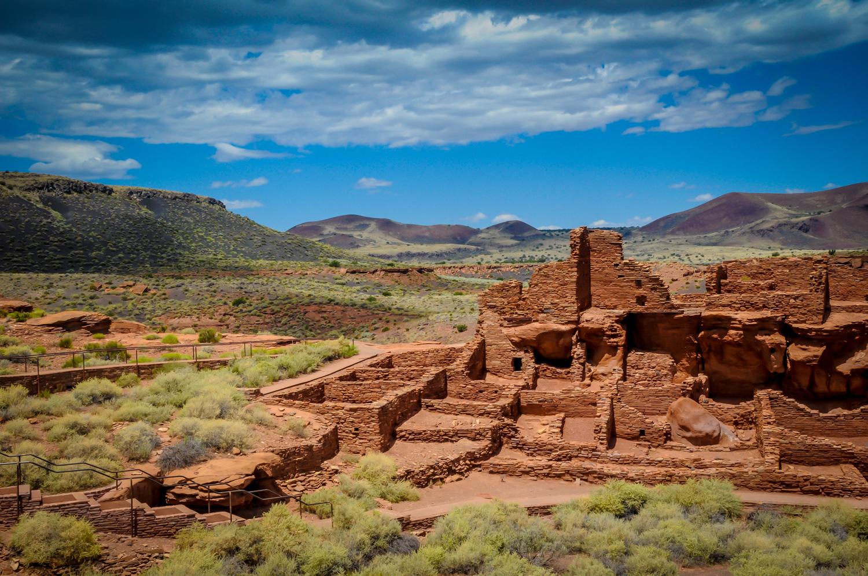 Ruins  Wupatki National Monument, AZ