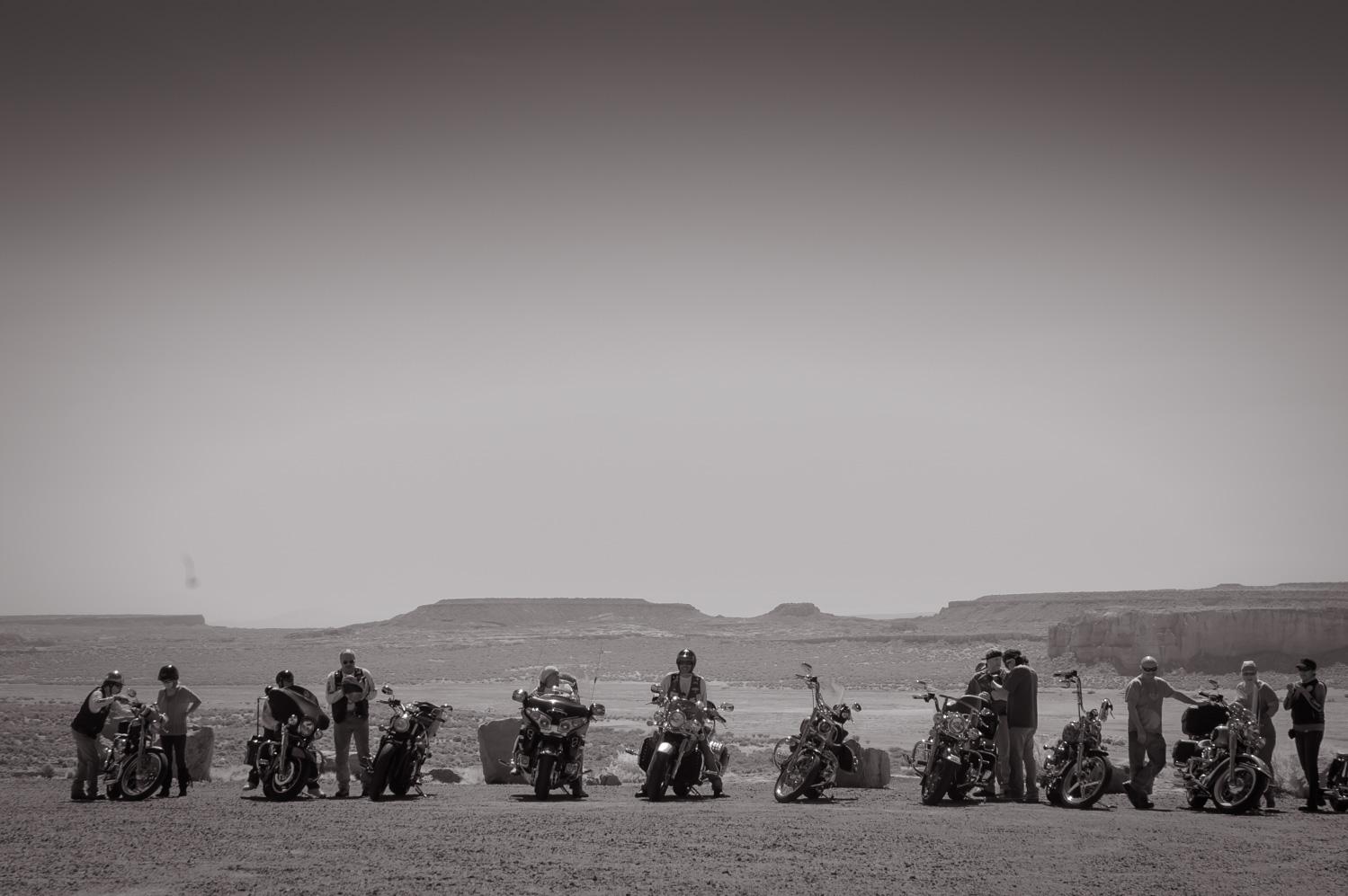 Men and Mountains  Acoma, NM
