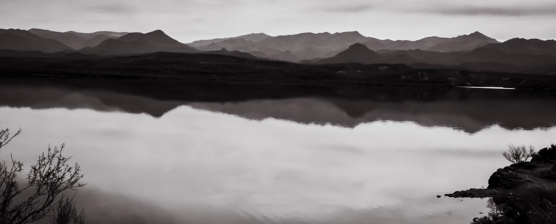 Across the Water   Horseshoe Lake, AZ