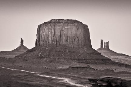 Road Runs Through It   Monument Valley, AZ
