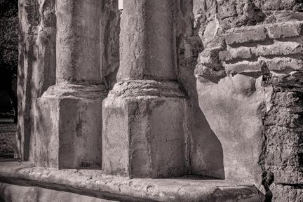 Aging Pillars   Tumacacori, AZ