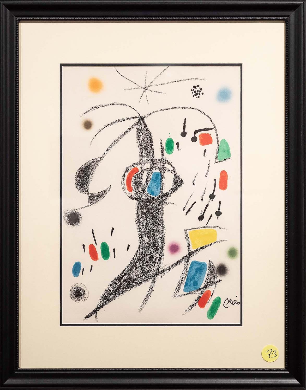 73. Joan Miro