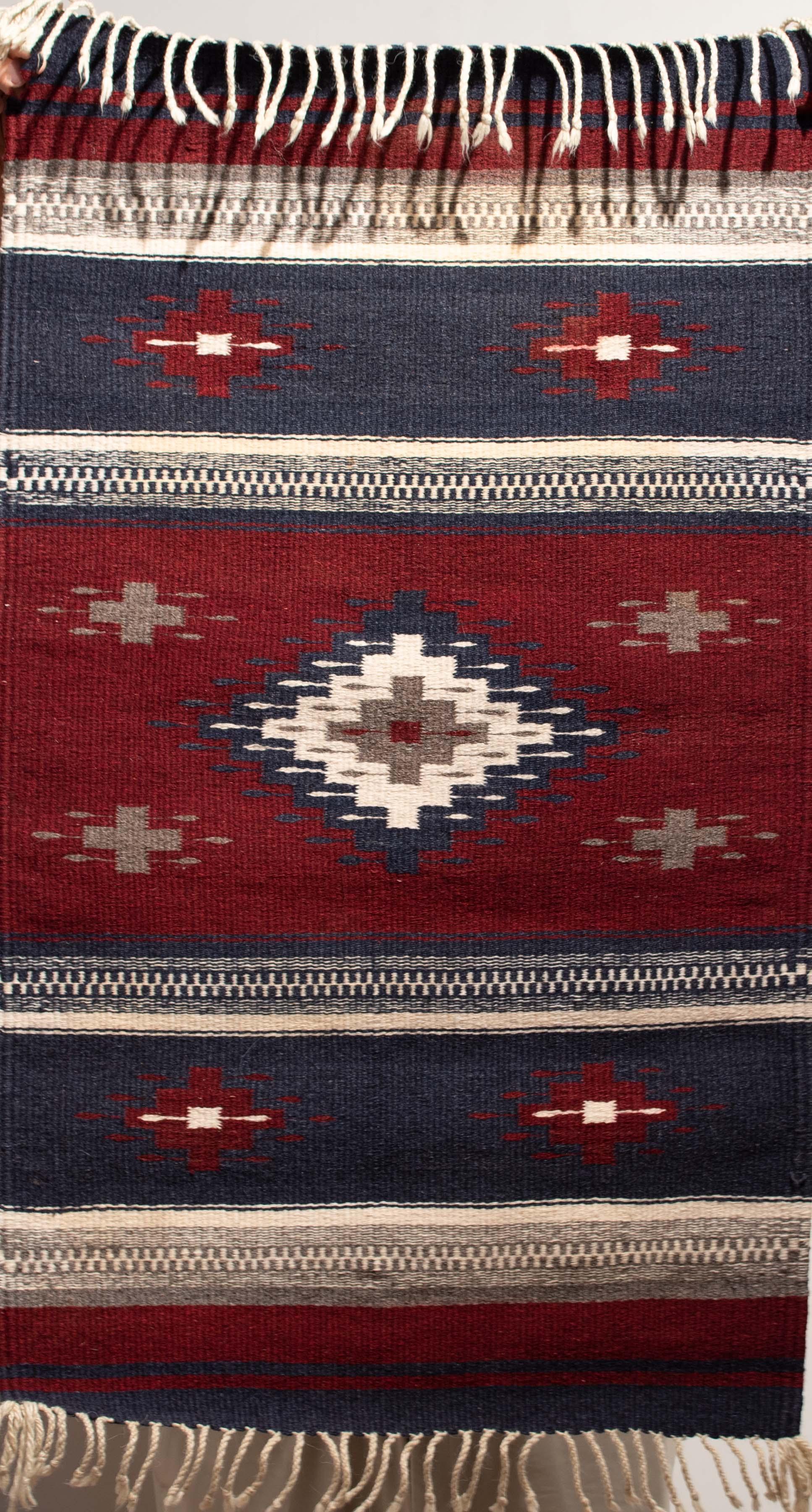 13. Ganado Rug Runner (Navajo)