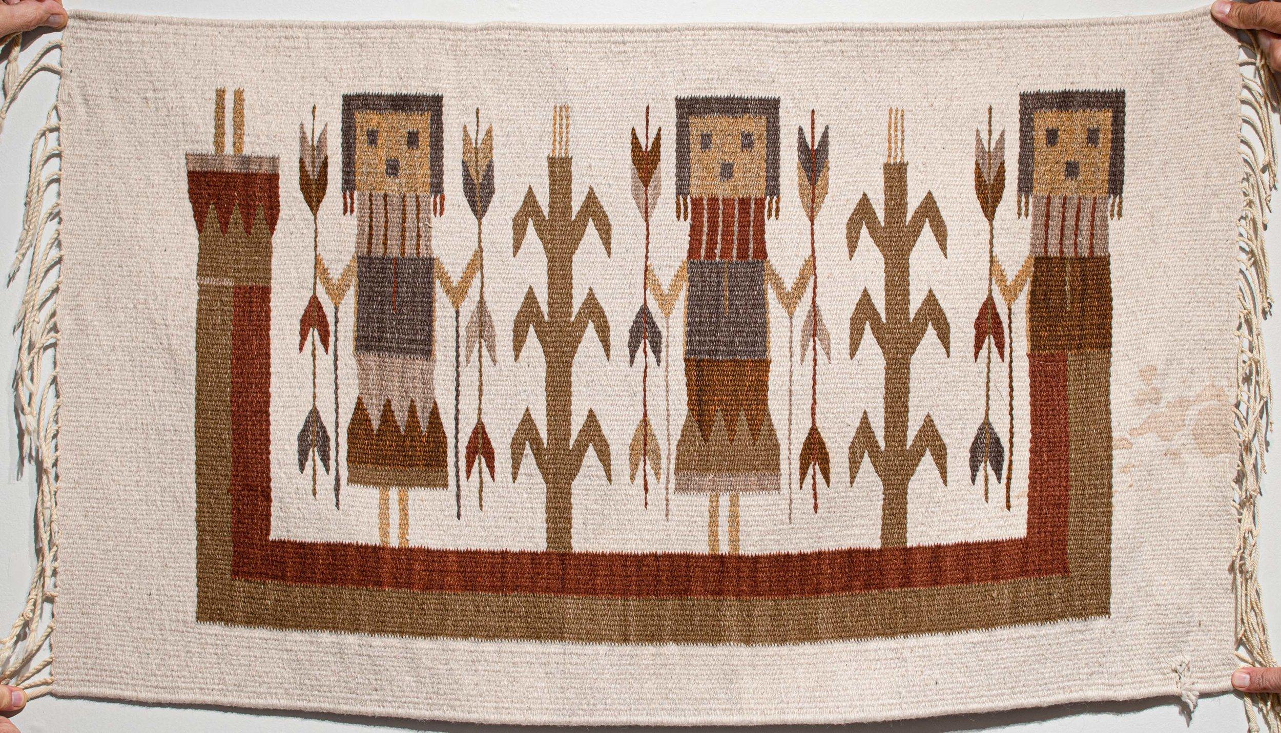 59. Yei Rug Runner (Navajo)