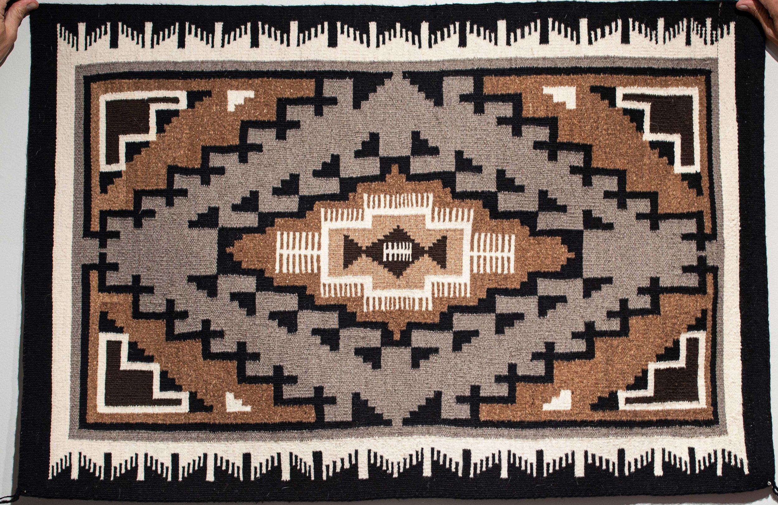 127. Storm Pattern Rug Runner (Navajo)