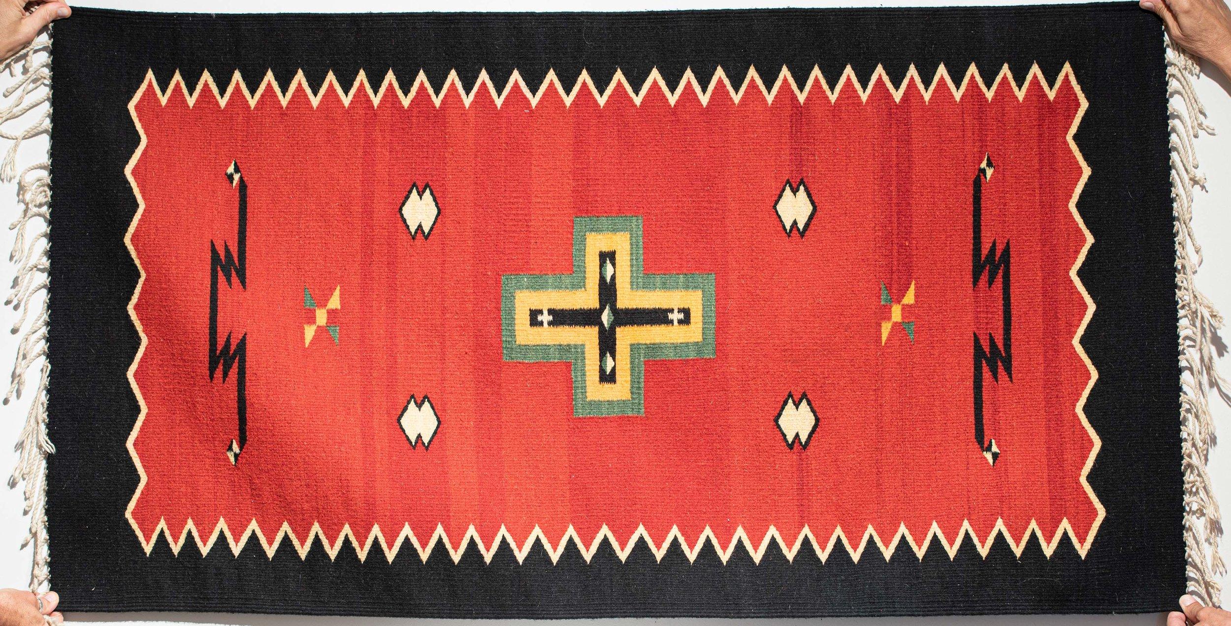 147. German Town Style Rug Runner (Navajo)