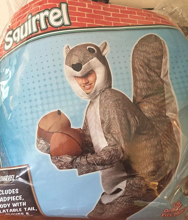 Who wants to volunteer to wear our new squirrel costume at the tree climb? #columbusga #trees🌳 #treesrock