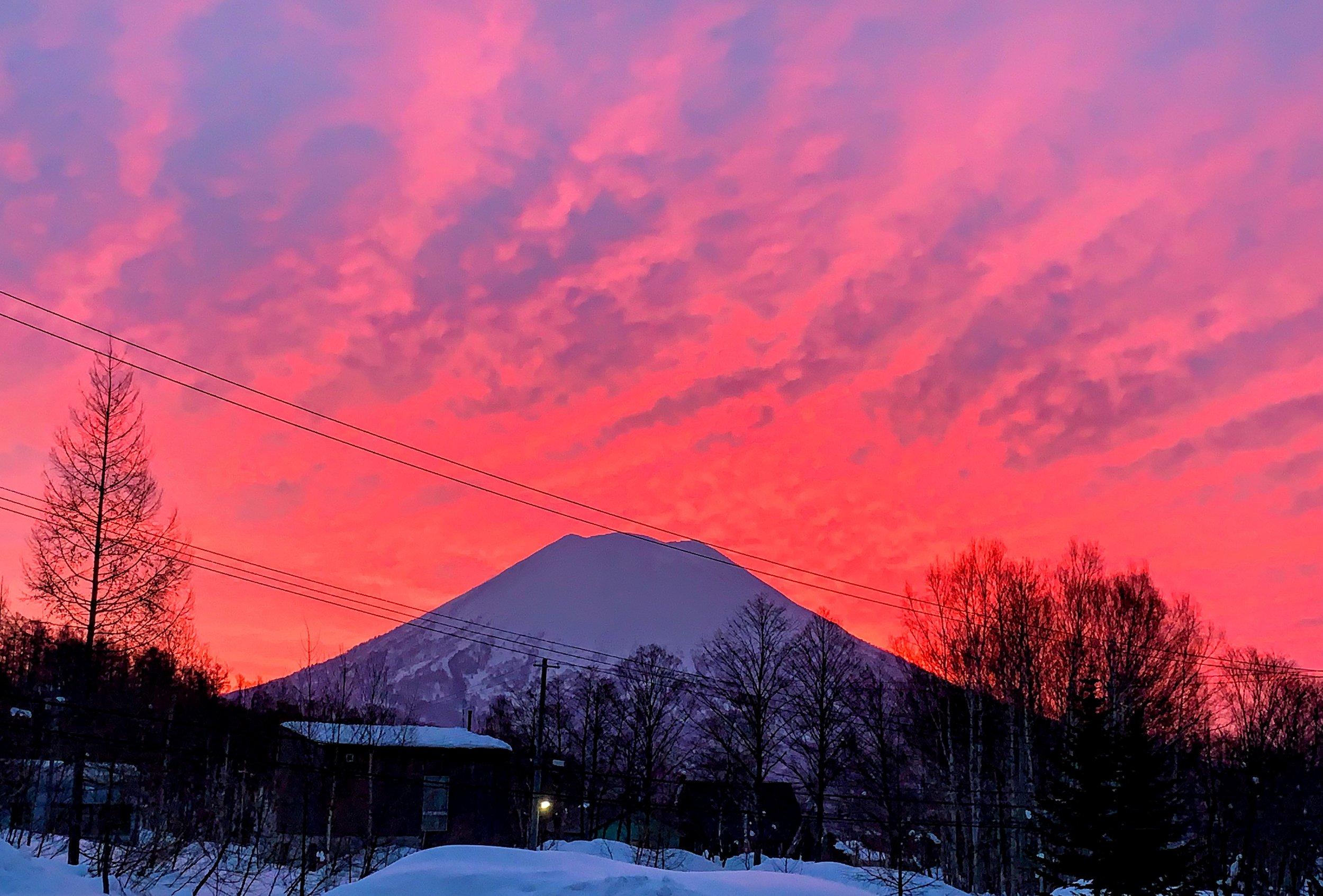 Mt. Yotei at Sunrise