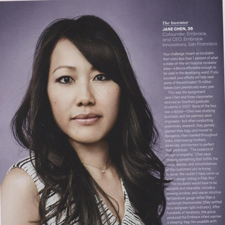 Feature in Oprah Magazine