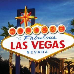 Las Vegas sign at JCK