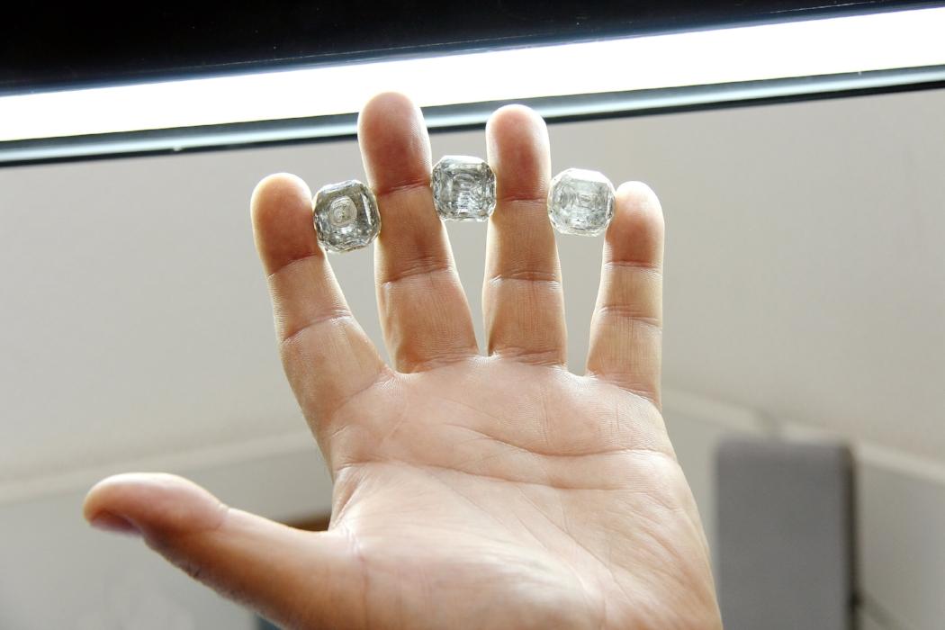 Diamond Size Comparison JCK Jewelry Showcase