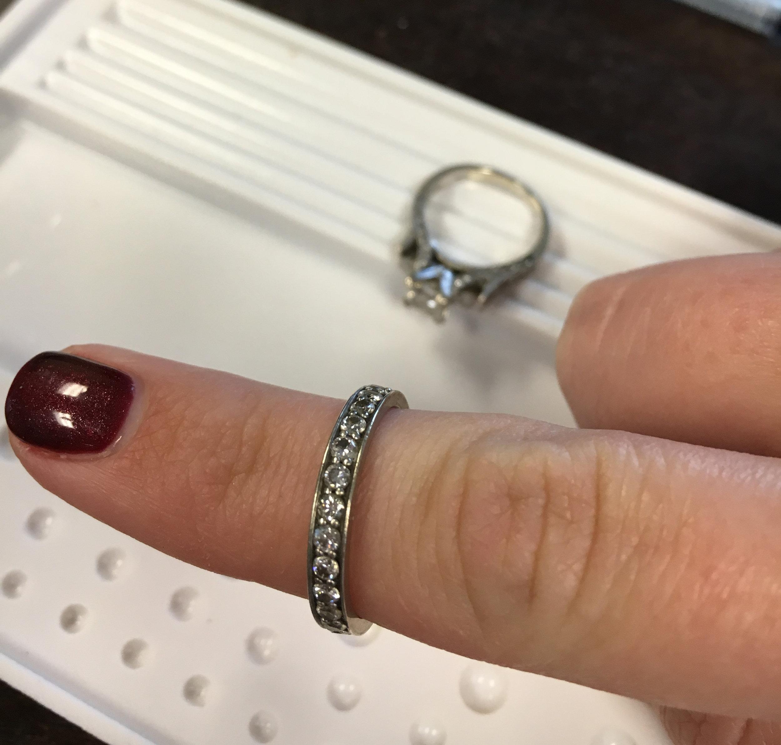 Customer rings before restoration