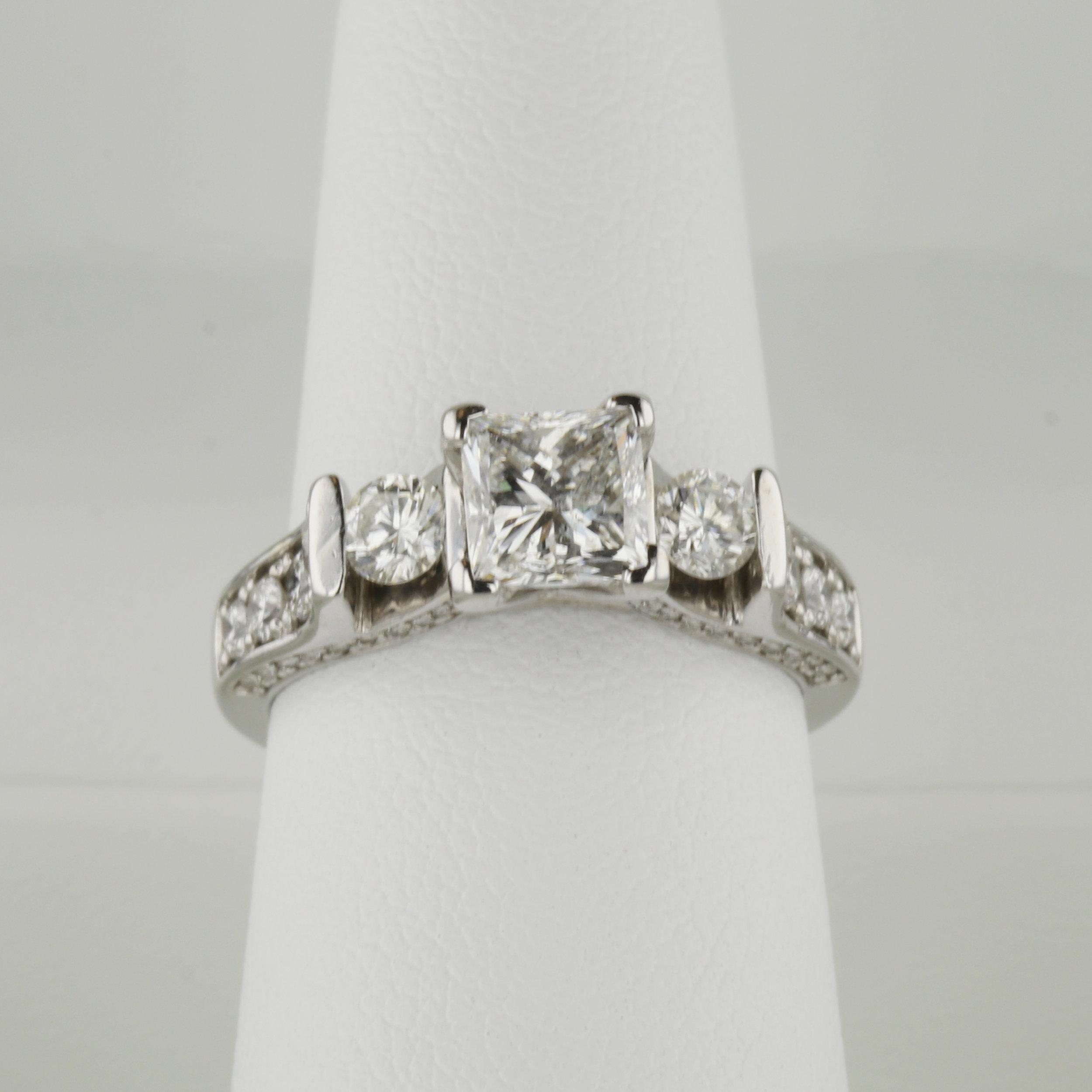 Engagement Ring After Restoration