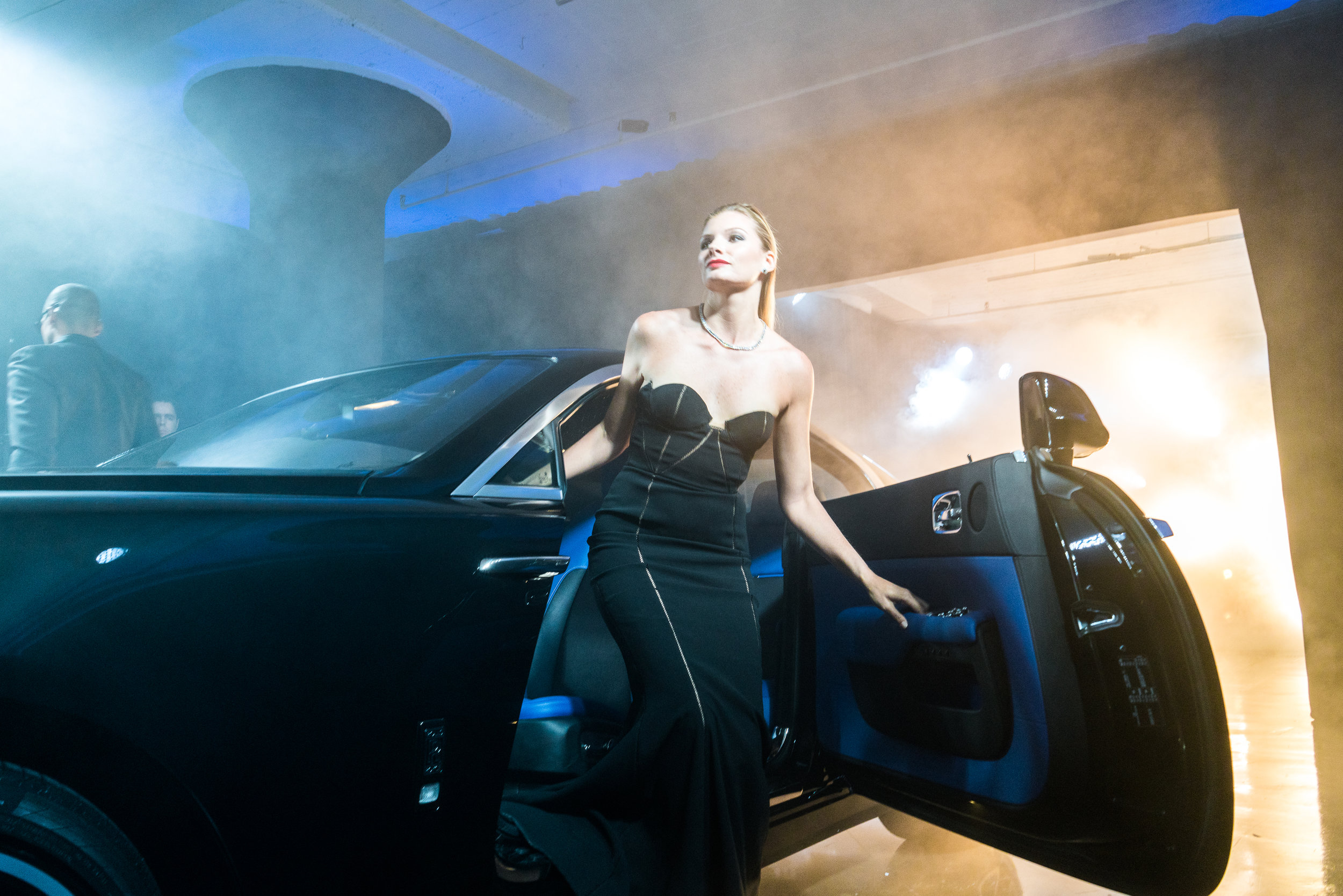 Ada Diamonds at the launch of Rolls Royce Motorcars black badge north americ
