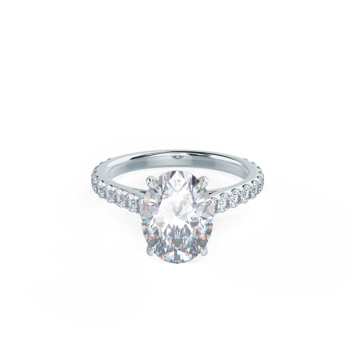 Diamond Engagement Bands Lab Created Diamonds