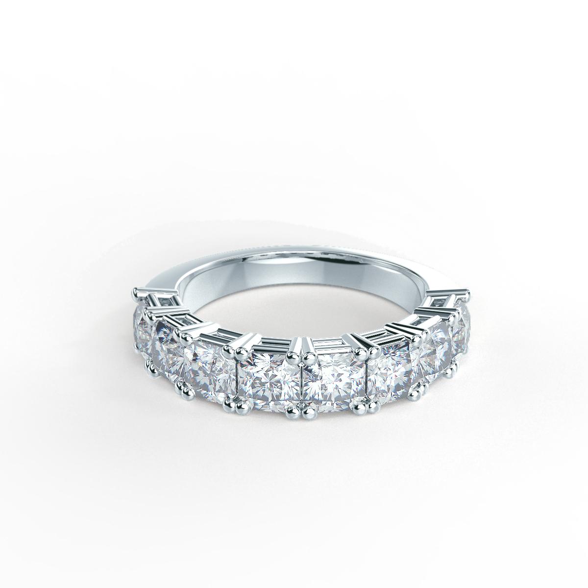 Half Eternity Bands Lab Created Diamond Wedding Rings