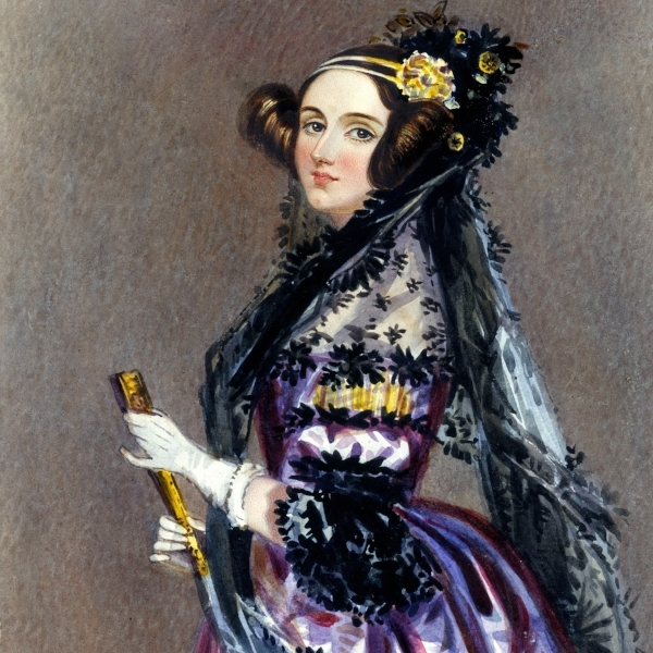 Ada Lovelace Portrait Lab Created Diamonds Inspiration