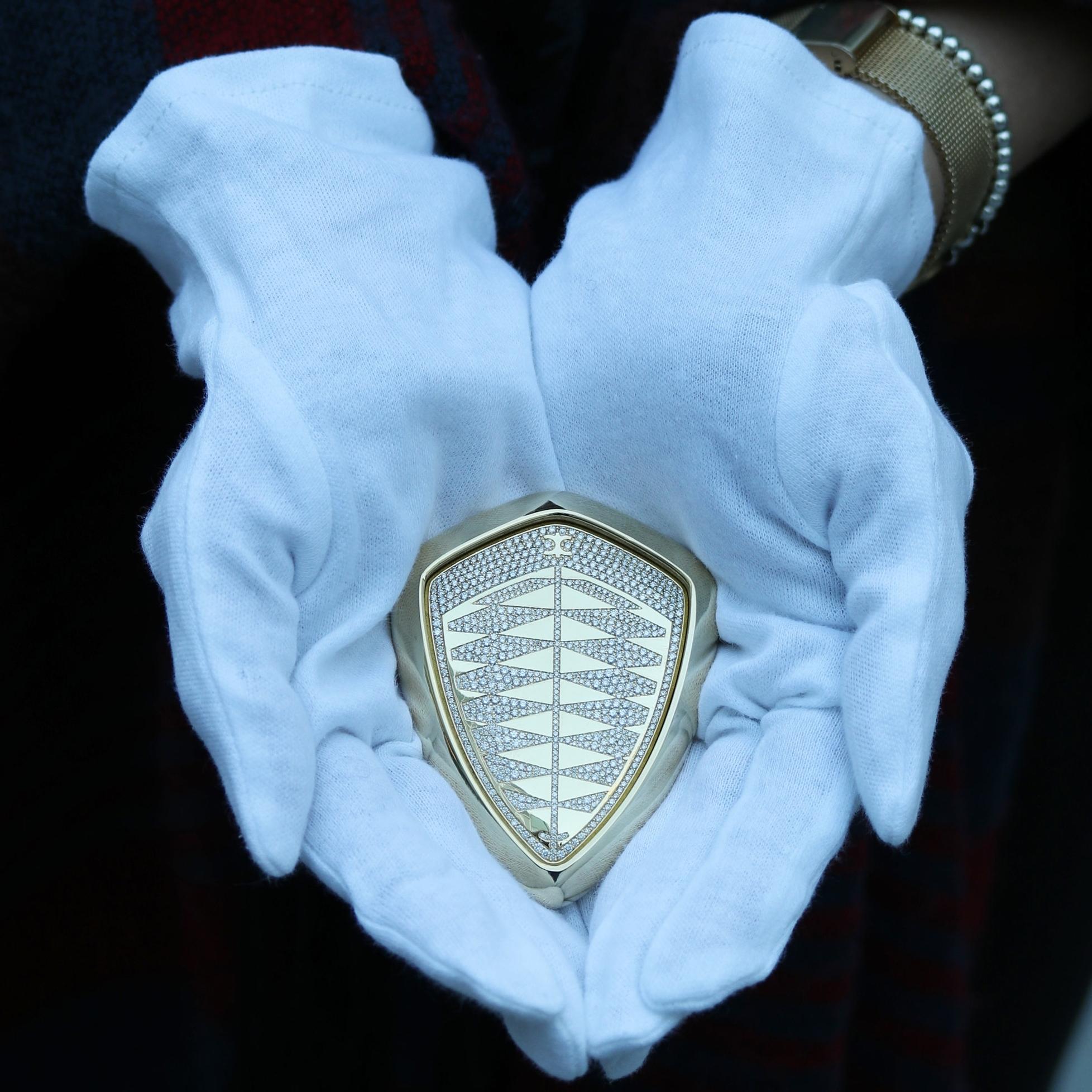The Fastest Diamonds On Earth: A Lab Diamond Encrusted Hypercar Key -