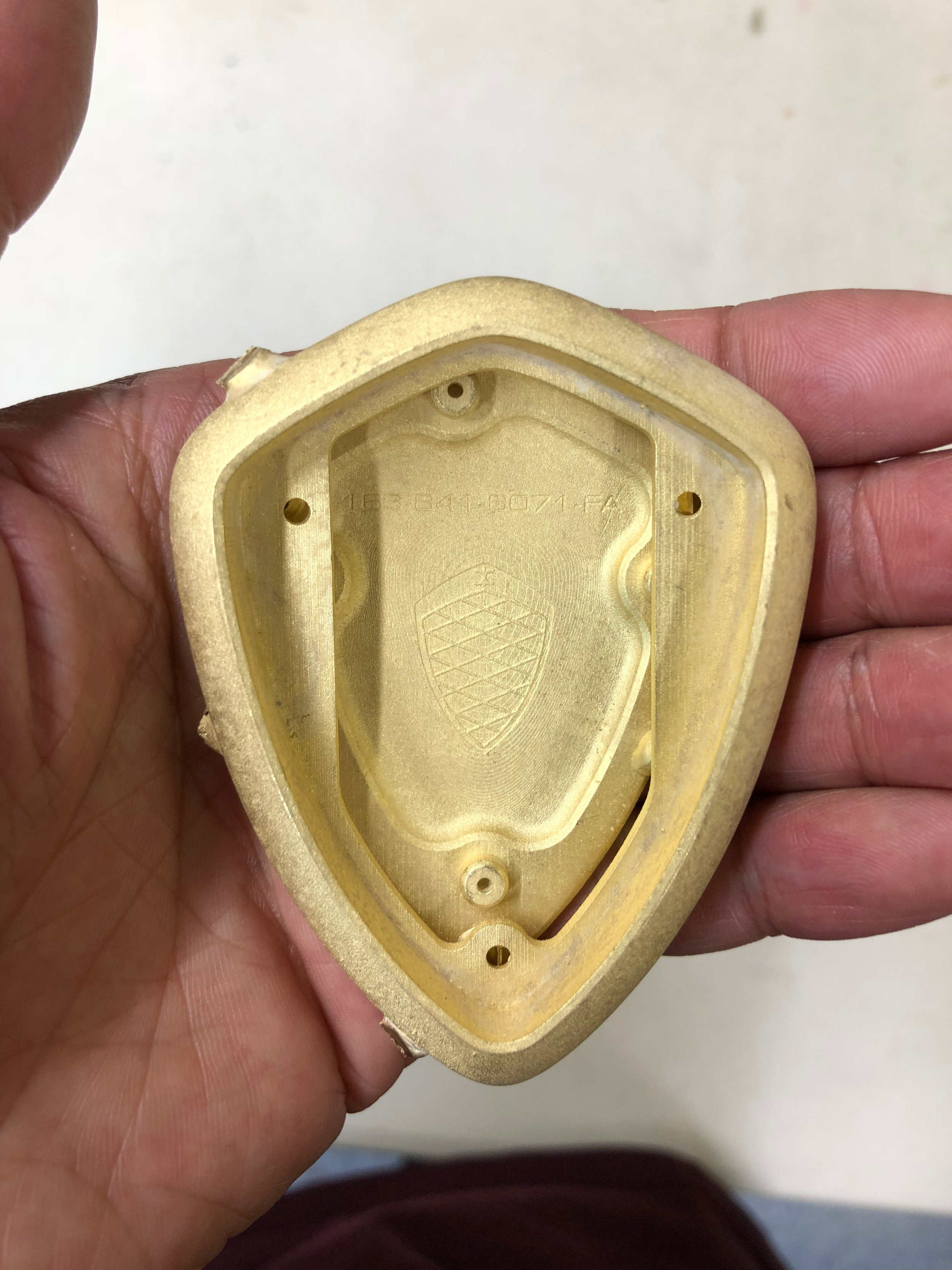 Components Cast in 18kt Gold