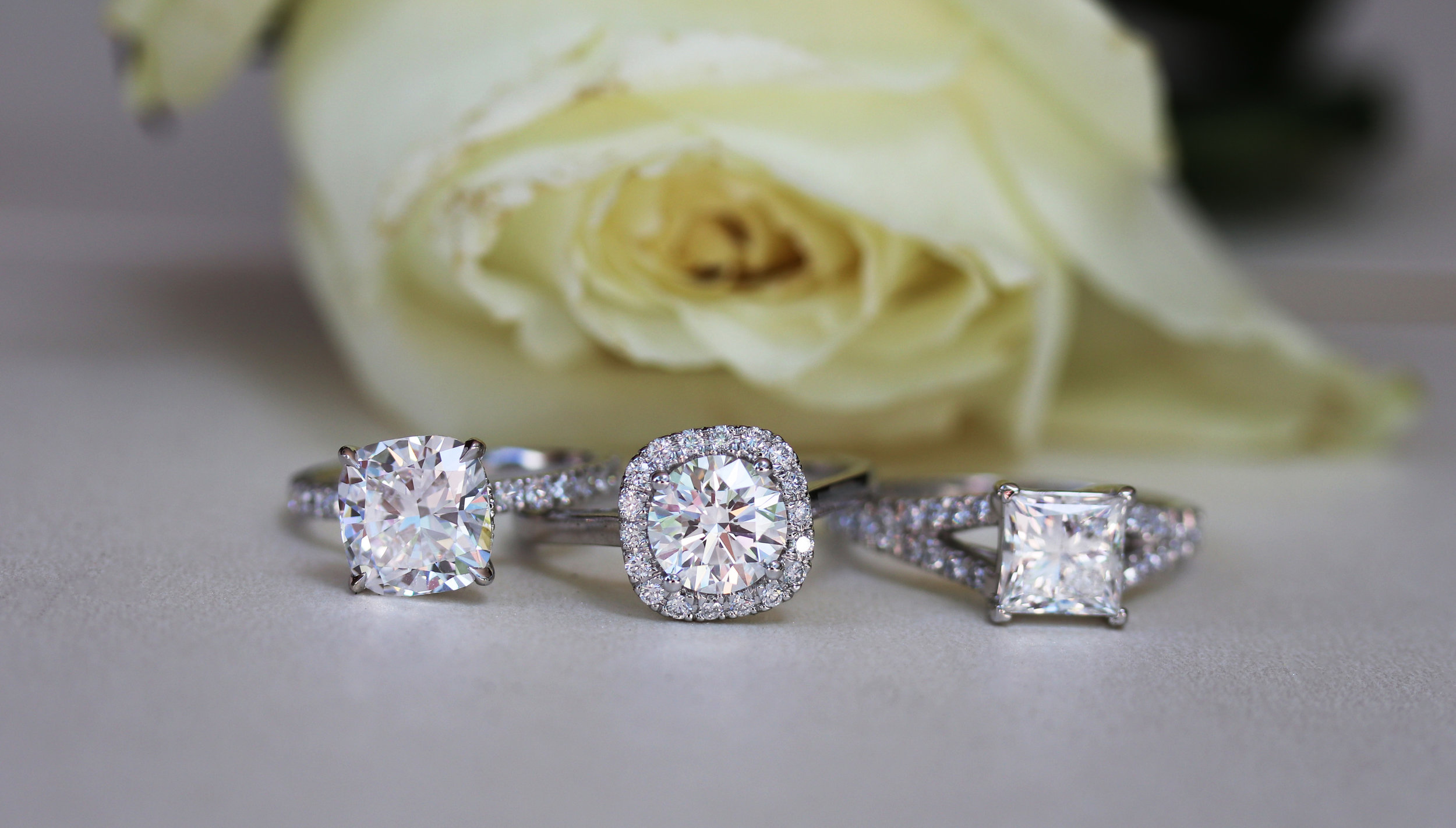 lab diamond solitaire engagement rings ada diamonds