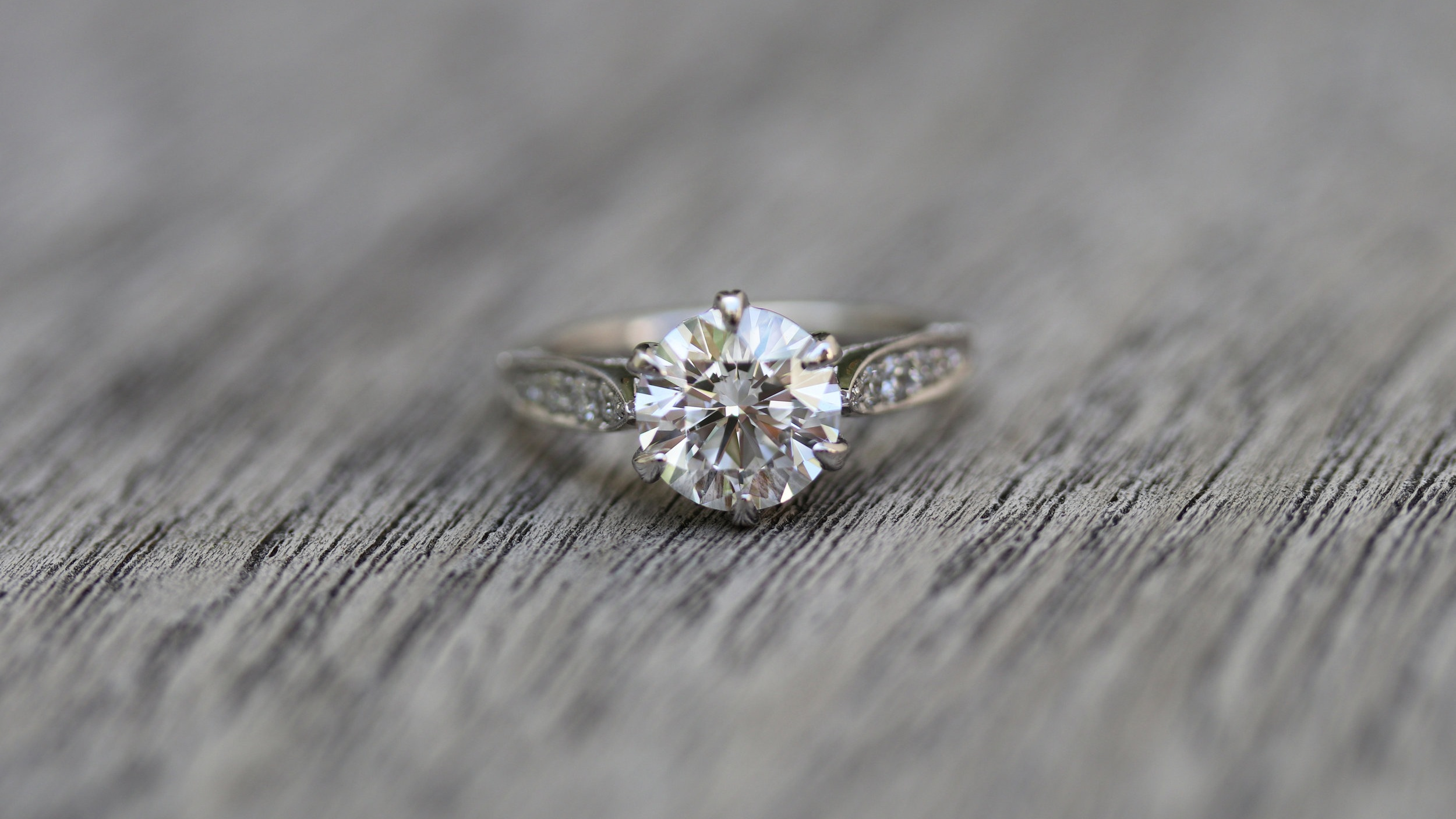 antique style custom lab diamond engagement ring ada diamonds
