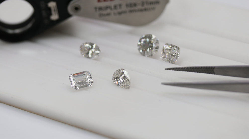 Loose lab grown diamonds for sale Ada Diamonds San Francisco