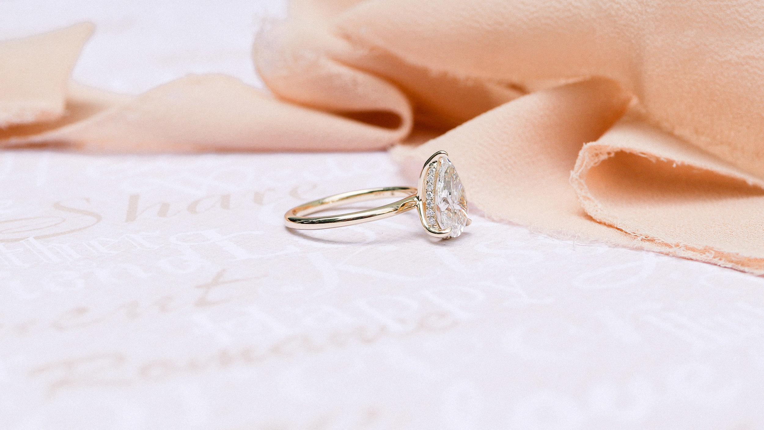 loose lab grown emerald cut diamond for sale Ada Diamonds